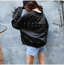 Lace Up Jacket / Chaqueta Bomber Corse Wh066
