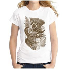 Steampunk Cat Stylish Women T Shirts