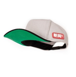 Japanese Style Snapback Cap Green Underpeak Japan Tokyo Baseball Hat Retro