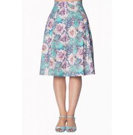 Banned Apparel Green Marys Garden Skirt