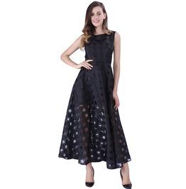 High Fashion Women's Plaid Sleeveless Dress