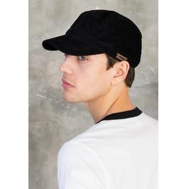 Japanese Style Black Cord Cap Corduroy Retro Cadet Army Officer Urban Hat