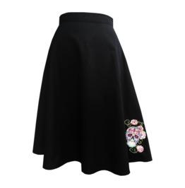 Sugar Skull Skirt Rockabilly Skirt