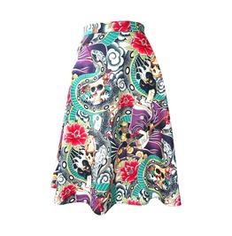 Rockabilly Snake Charmer Skirt