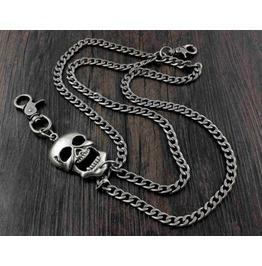 Men's Punk Rock Wallet Chain With Key Rings Pat.12
