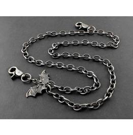 Men's Punk Rock Wallet Chain With Key Rings Pat.24