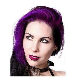 Lunatik Hair Dye: Vf Purple, Extra Long Lasting, Demi Permanent, Vegan