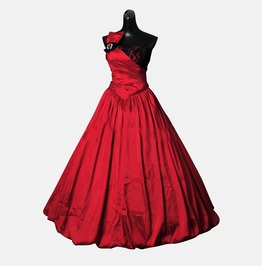 Gothic Wedding Dress Gown Made To Measure Handmade Free Delivery