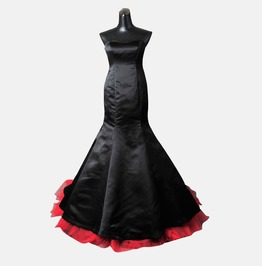 Gothic Wedding Dress Gown Made With Jacket Handmade Free Delivery!