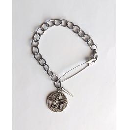 Gothic Visual Kei Pentacle Bracelet