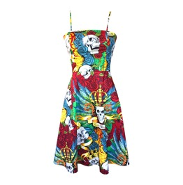 Rockabilly Psychobilly Skulls Dress