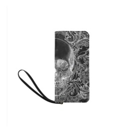 Baroque Skull Clutch