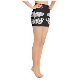 Black Moth Yoga Shorts