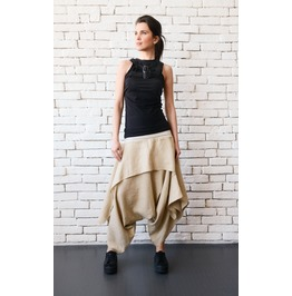 Extravagant Black Top With Belts/Sleeveless Black Tunic/Tight Black Vest