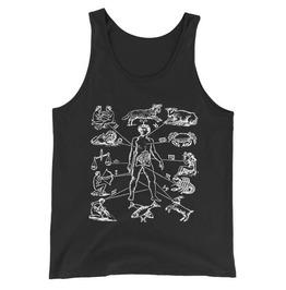 Zodiac Anatomy Tank Top