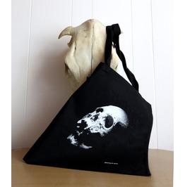 Skull Tote Bag Screen Printed