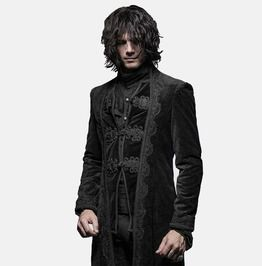 Gothic Victorian Rock Gorgeous Vintage Trench Coats