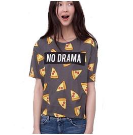 Pizza T Shirt Camiseta Wh228