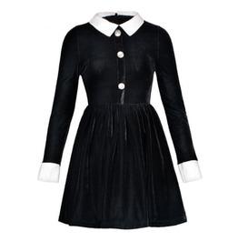 Alien Rivet Goth Harajuku Punk Long Sleeves Lolita Womens Mini Dress