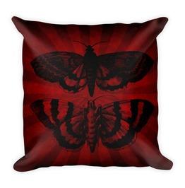Mothra Striped Pillow