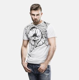 Men's Snake Graphic Tee