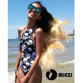 Skullz Miezi Exquisit Swimsuit Bikini Women Girl Skull Gothic Summer 2018
