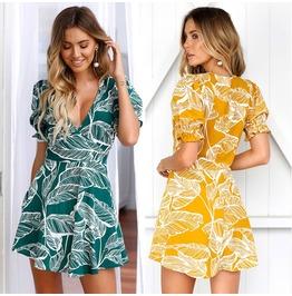 Floral Short Maxi Dress Cocktail Party Evening Summer Beach Sundress