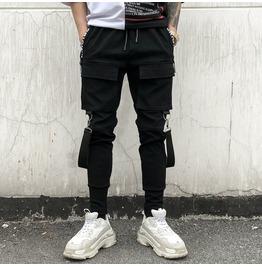 Men Sportwear Baggy Harem Pants Slacks Trousers Casual Jogger Sweatpants