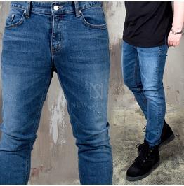 Light Washed Blue Slim Denim Jeans 392