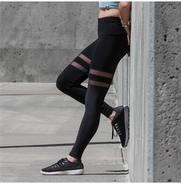 Urban Punk Transparent Strips Women Leggings