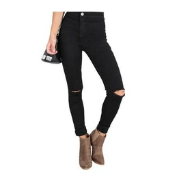 New Fashion Hole Ripped Denim Women Jeans