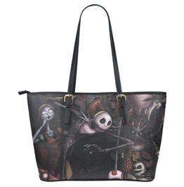 Jack And Sally Women's Tote Shoulder Handbag Large Capacity