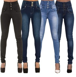 Urban Women's High Waist Skinny Jeans