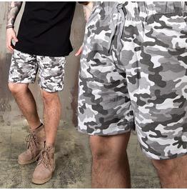 Camouflage Pattern Sweatshorts 91