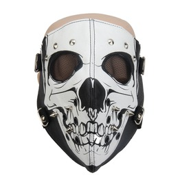 Unisex's Skull Face Mask Full Face Protective Tactical Masks