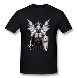 Braveheart Knight Templar Men T Shirt