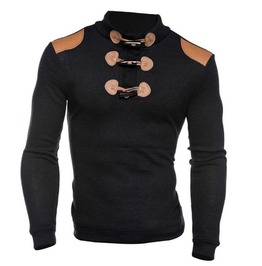 Steampunk Knitted Spring Men Sweater