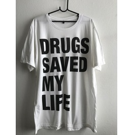 Drug Save My Life Fashion Unisex T Shirt Xl