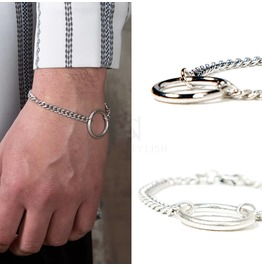 Metal O Ring Chain Bracelet 93
