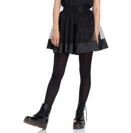 Jawbreaker Clothing Black Mesh Mini Skirt