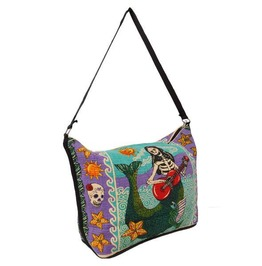 Day Of The Dead Mermaid Purse