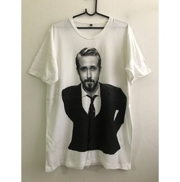 Ryan Gosling Actor Movie Star Fashion Unisex T Shirt Xl