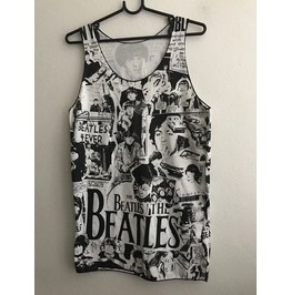 Lennon Forever Pop Fashion Unisex 2 Side Print Tank Top M