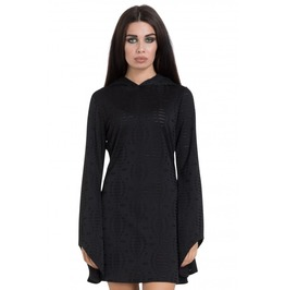 Jawbreaker Clothing Black Hoodie Dress