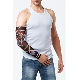 Cosmic Moth Unisex Tattoo Mesh Sleeve