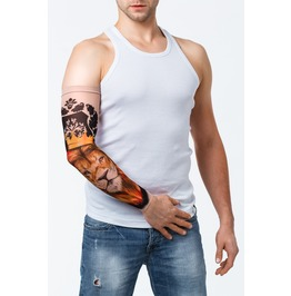 Lion The King Unisex Tattoo Mesh Sleeve