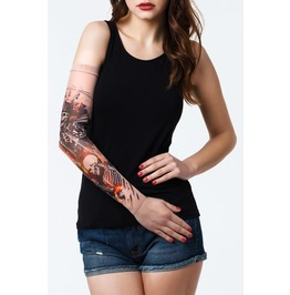 Wild Guns Unisex Tattoo Mesh Sleeve