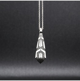 Sigma Silver Necklace [Arm's]Collection
