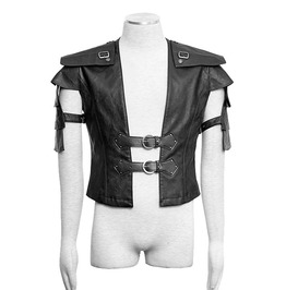 Punk Rave Y 632 Armor Synthetic Leather Mediaeval Post Apocalyptic Vest