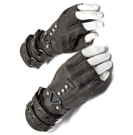 Punk Rave Ws 252 Mad Max Gray Steampunk Post Apocalyptic Fingerless Gloves